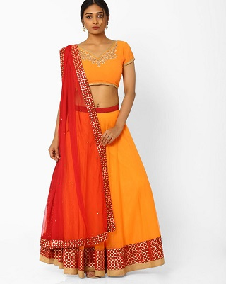 15 colourful and affordable lehengas
