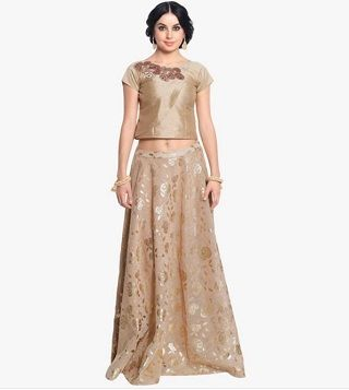 2 colourful and affordable lehengas