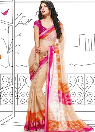 5 sarees for the new bride