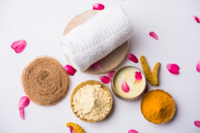 6. Gram Flour To Get Rid Of That Fuzz homemade face pack face mask
