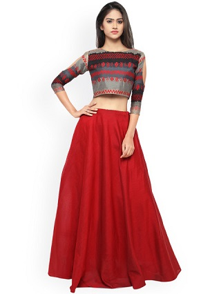 7 colourful and affordable lehengas