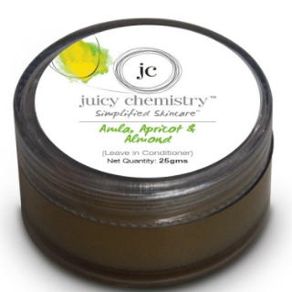 7 products to use after washing your hair - Juicy Chemistry leave in conditioner