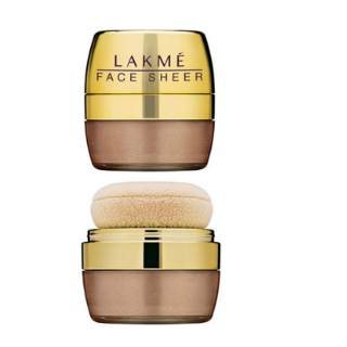 9 makeup products - lakme face sheer