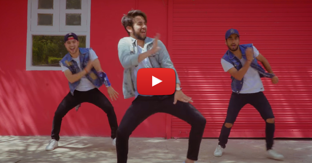 Three Guys Dance To 'Move Your Lakk' - This Is AWESOME!!