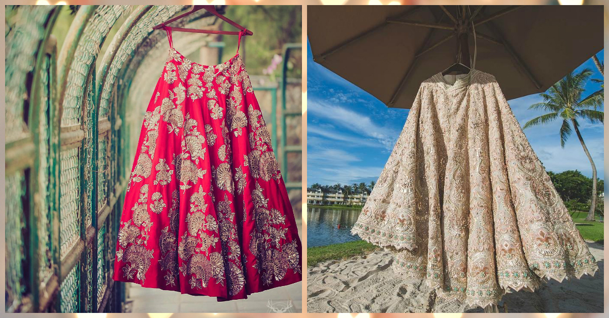 10 Beautiful & Unique Ways To Get Your Bridal Lehenga Clicked!