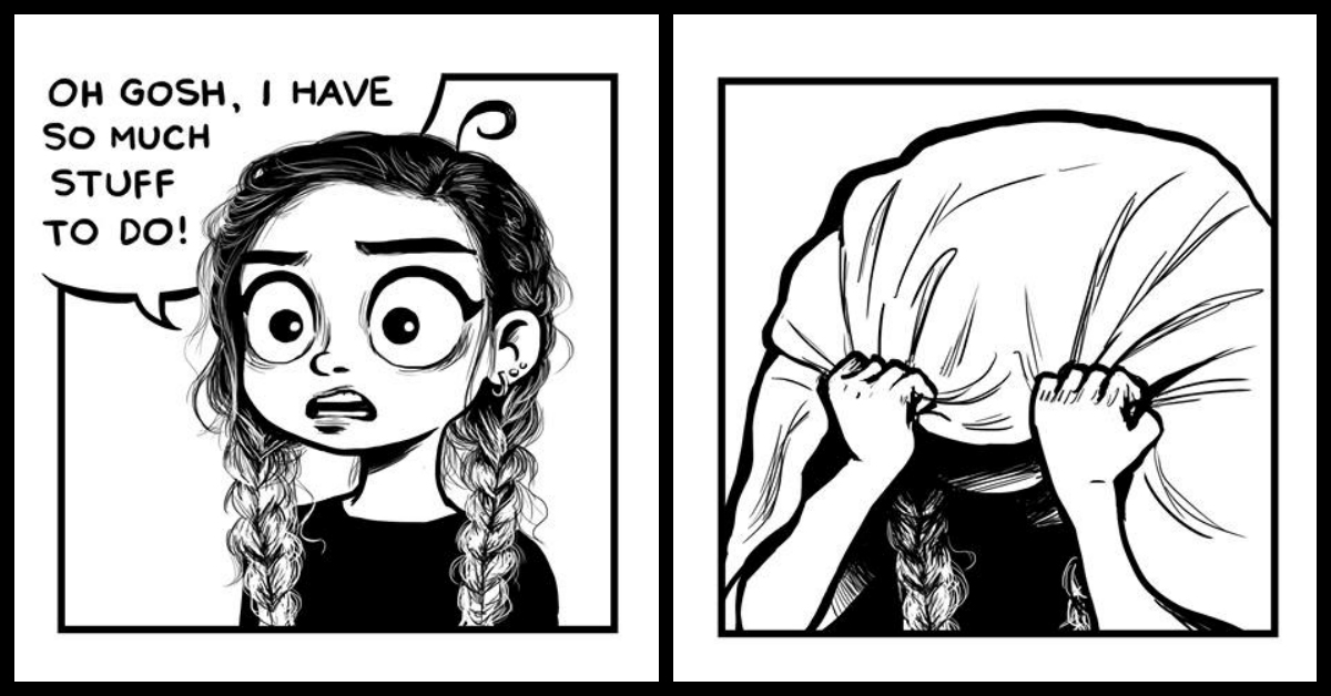 A Girl & Her Life - 7 Everyday Comics That Are Just SO True!!