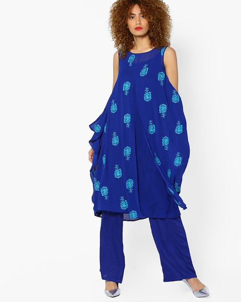 4 indian wear trends  Embroidered Kurta with Pants