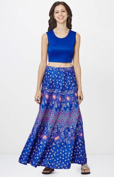 7 indian wear trends Royal Blue Coordinates