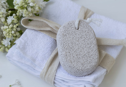 body hair removal inside 1 pumice stone