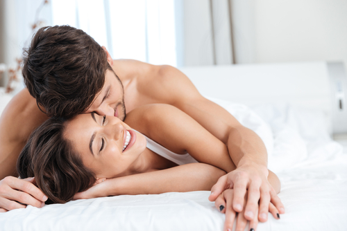 Internal sneak into his room - couple in bed