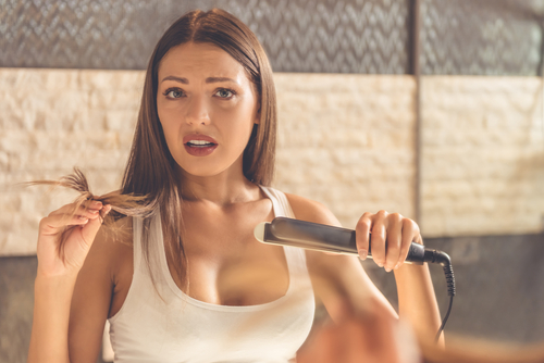 3 healthy hair ironing hair