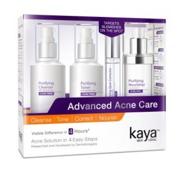 13 getting rid of whiteheads - kaya kit