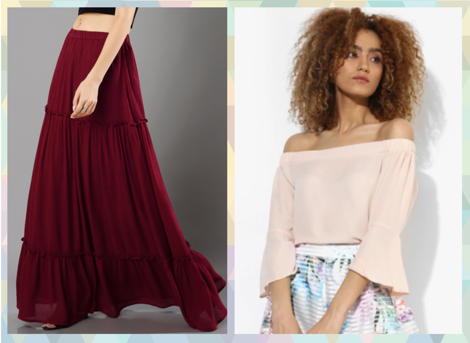 7-outfits for when you are on your period- Love your long skirts!