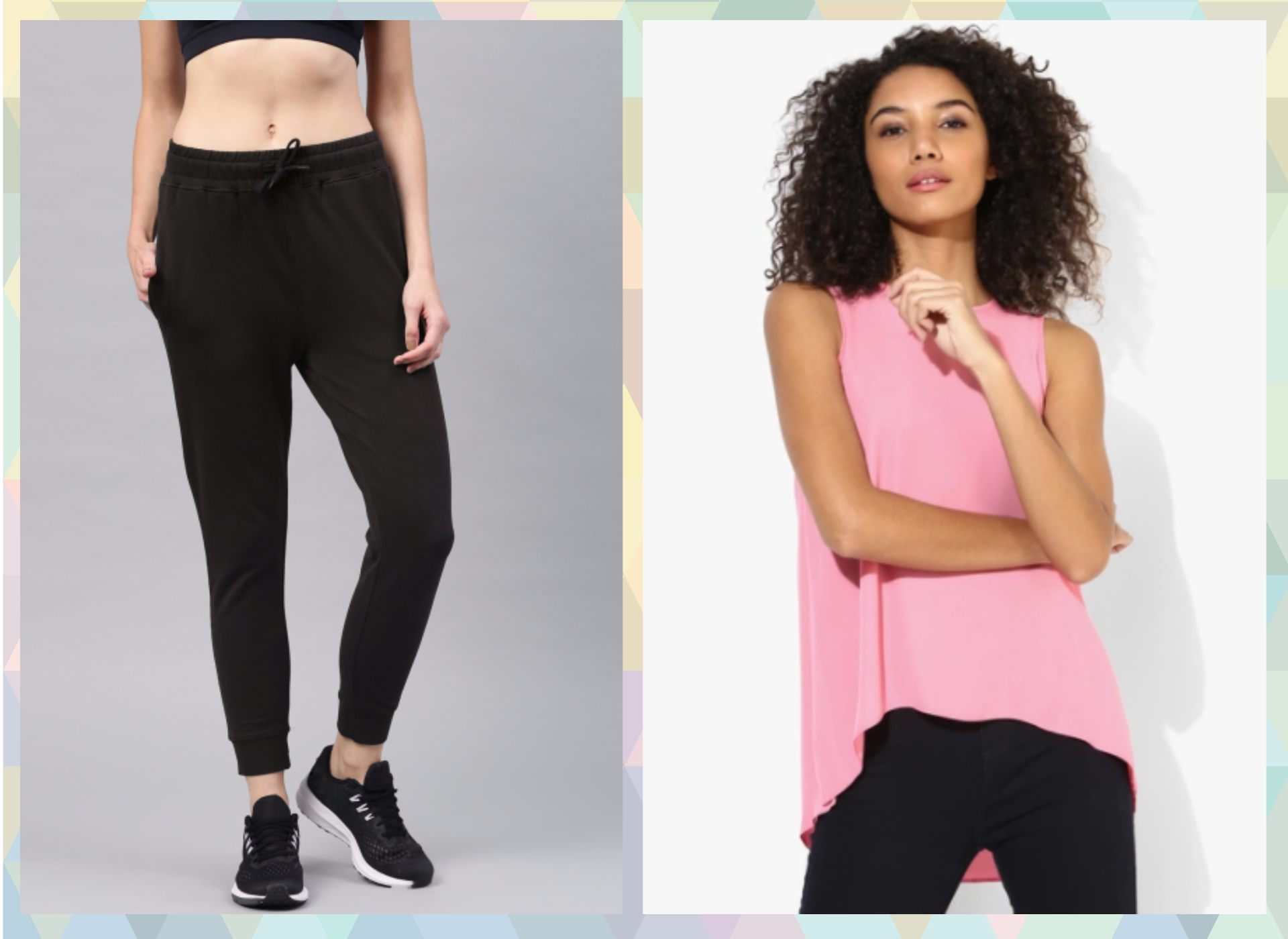 8-outfits for when you are on your period- Joggers