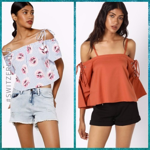 7 off shoulder tops