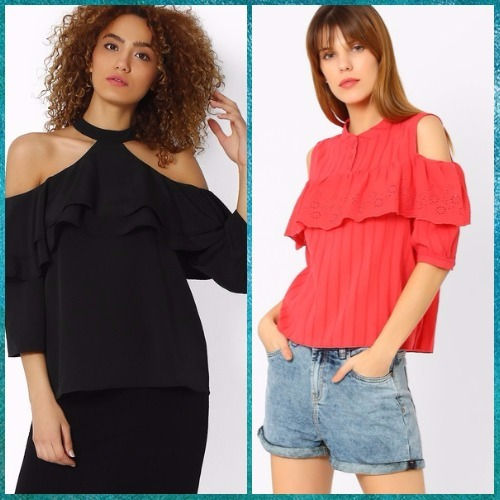 8 off shoulder tops