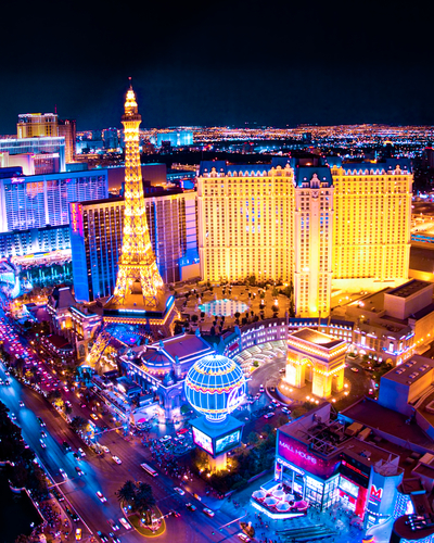 10 holiday destinations - las vegas