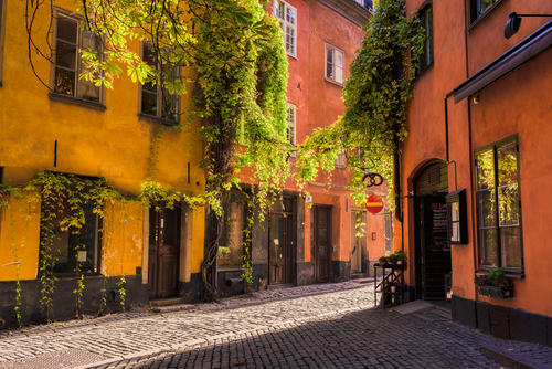 3 holiday destinations - stockholm