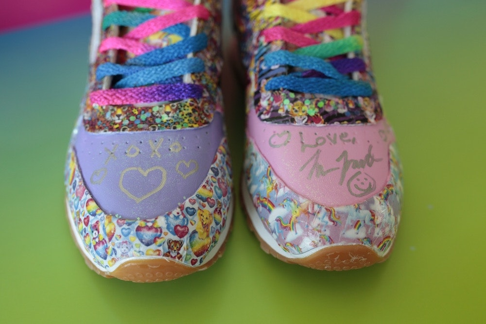 6 lisa frank and reebok collab - shoes