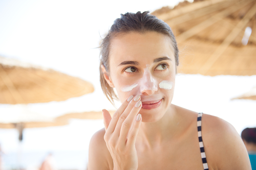 9 acne scars - apply sunscreen