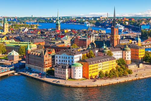 1 holiday destinations - stockholm sweden