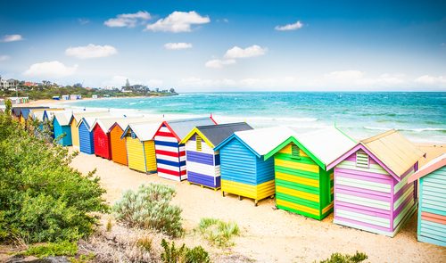 4 holiday destinations - melbourne australia