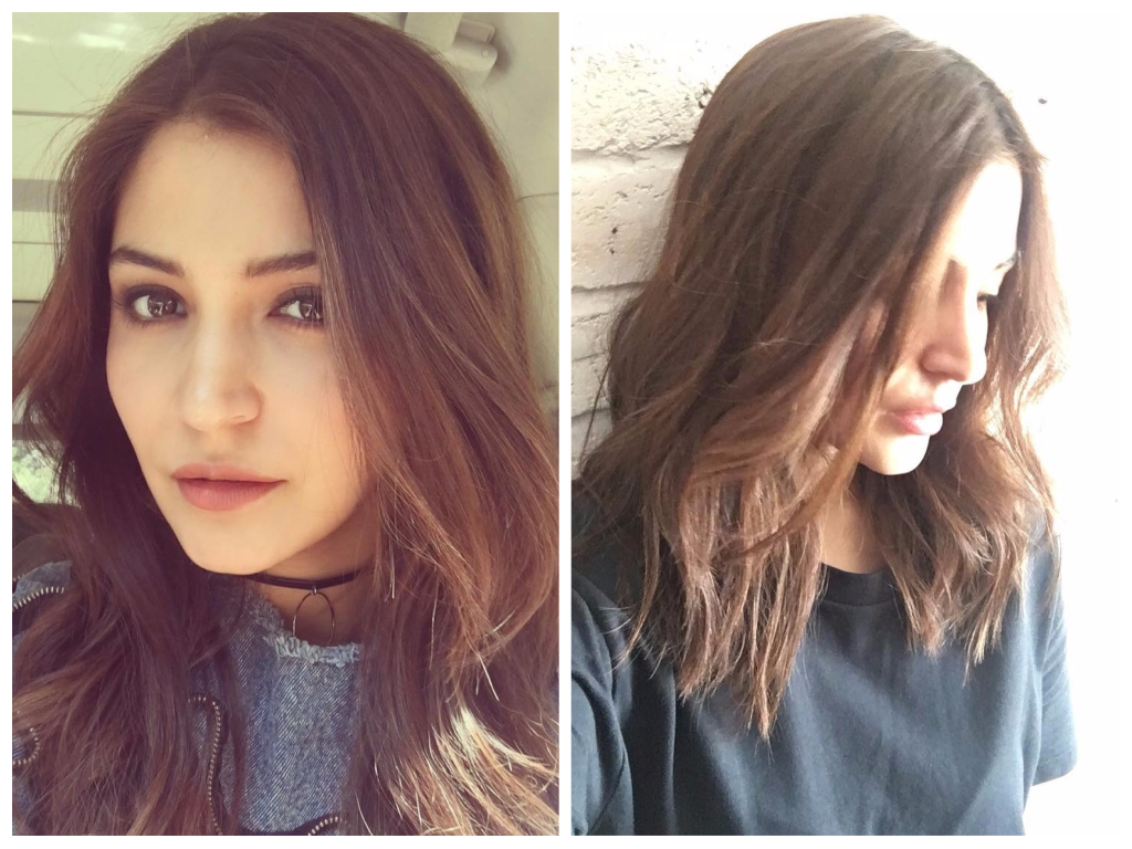 Anushka Sharma Celebrity Hair Transformations