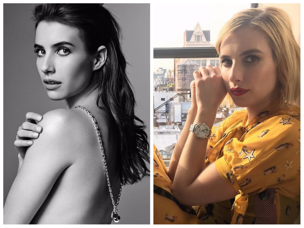 Emma Roberts Celebrity Hair Transformations
