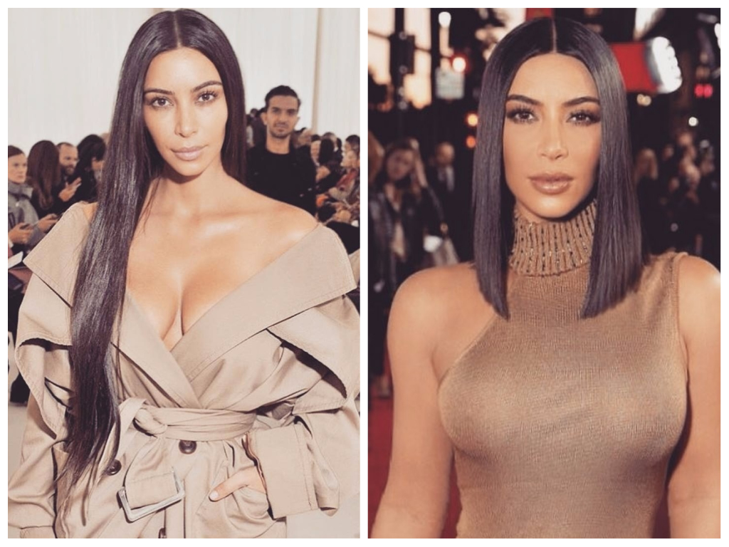 Kim Kardashian Celebrity Hair Transformations