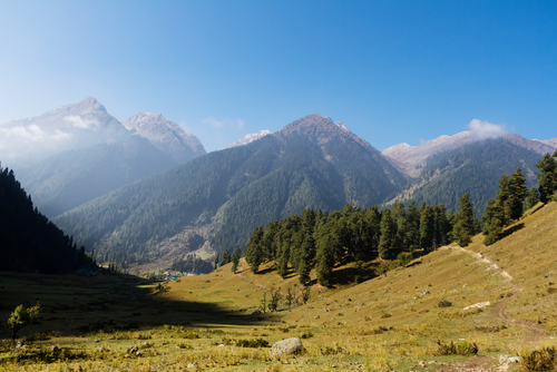 7 hill stations - aru valley