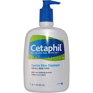 2 b face cleansers cetaphil gentle cleanser