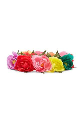 5. Rainbow Flower Crown  Forever 21