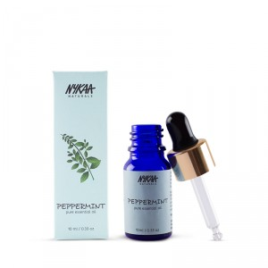 8 carrier and essential oils - nykaa peppermint