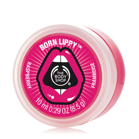 The Body Shop Born Lippy Pot Lip Balm - Raspberry