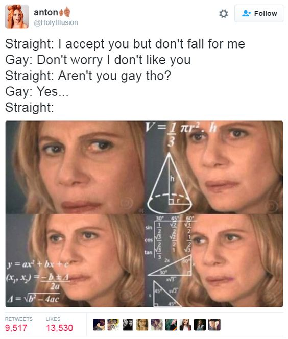 7 if you are gay