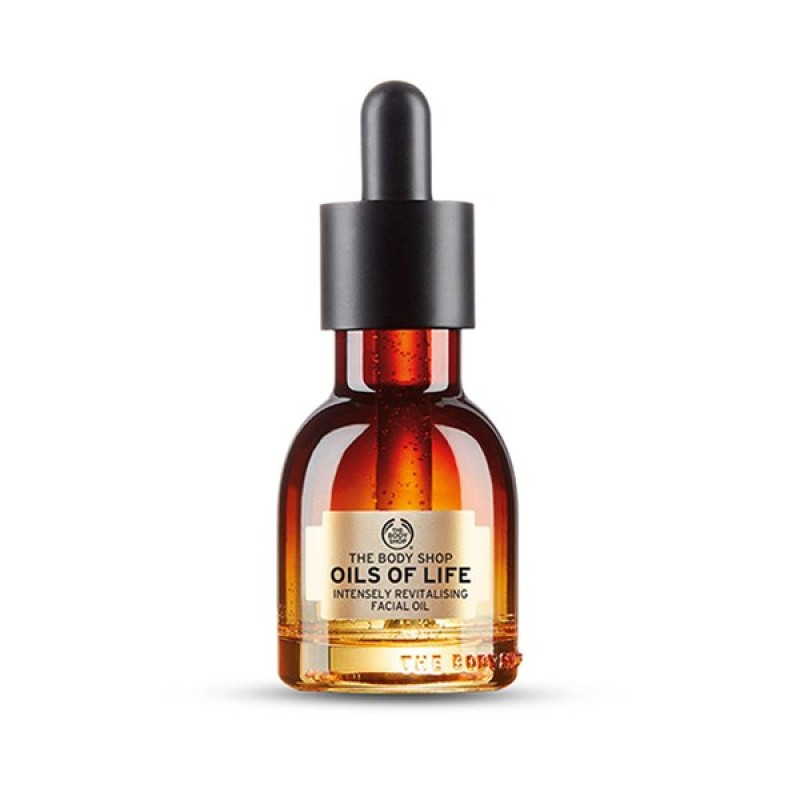 Winter Skincare Products the body shop face oil