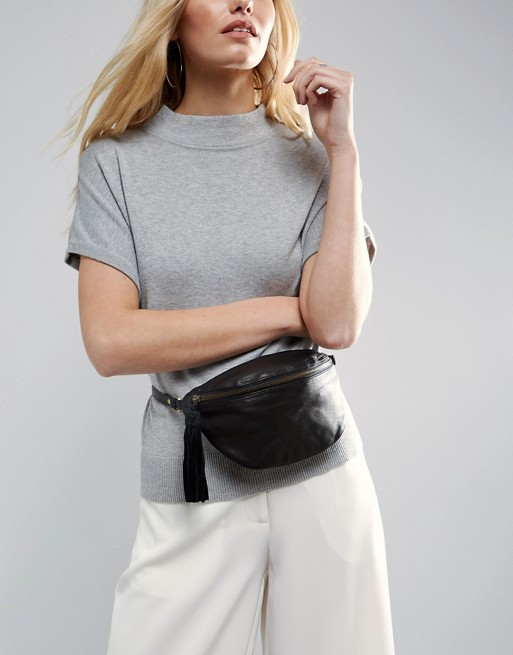 5 fanny pack - Leather Classic Fanny Pack