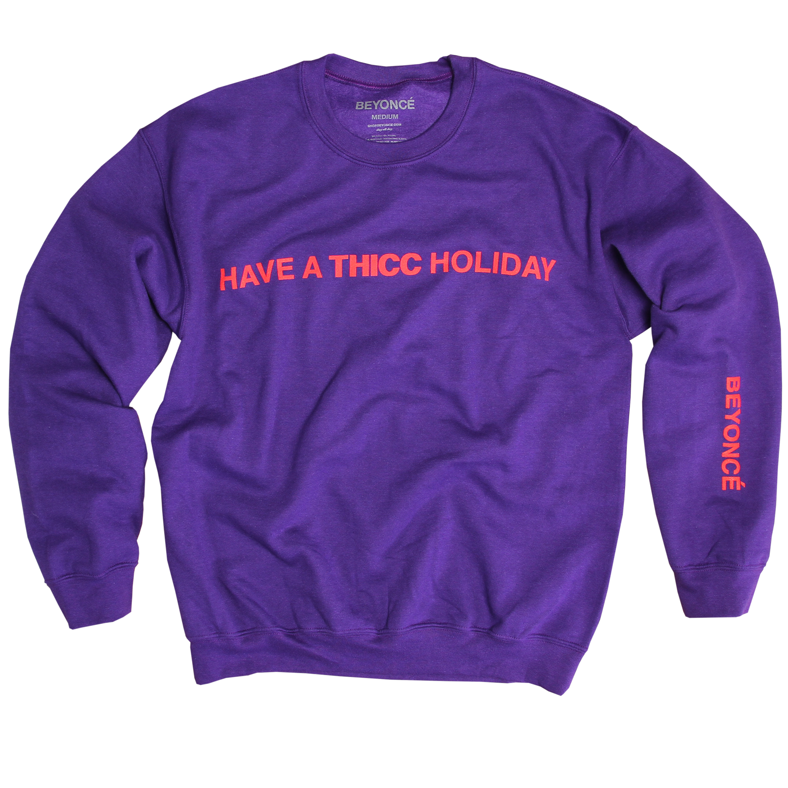 1 Beyonce Holiday Collection Thicc Crewneck F