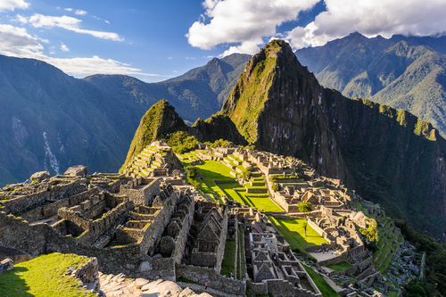 2 history buffs - machu picchu historic ruins