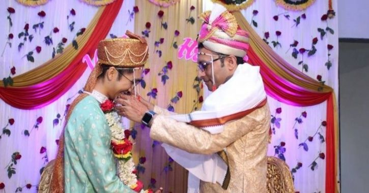 2 Indian  marriage  gay  partner