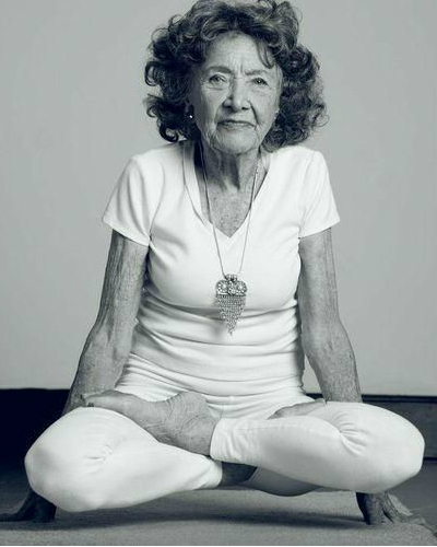 FI world's oldest yoga teacher