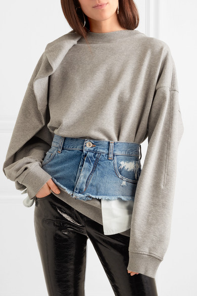1 denim  jeans  belt  crotchless jeans  trend