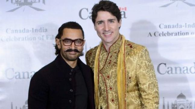 internal - justin trudeau india 2018