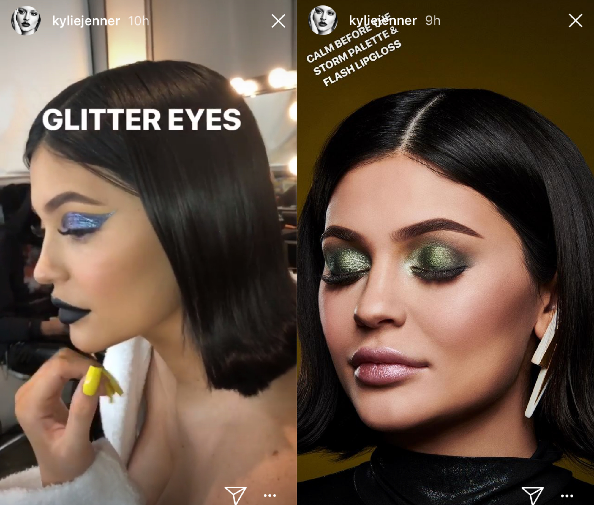 7 kylie jenner  kylie  weather collection  palette