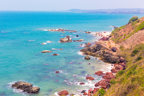 10 best beaches in india 2018 - keri beach goa