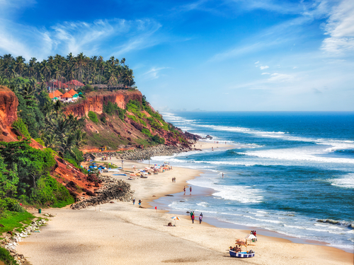 7 best beaches in india 2018 - varkala kerala