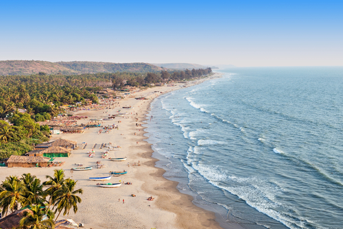 9 best beaches in india 2018 - arambol goa