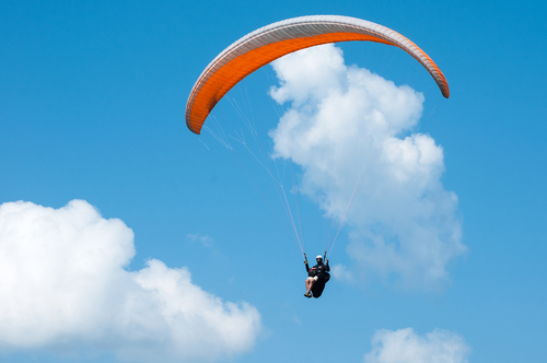 5 things to do in mussoorie - paragliding