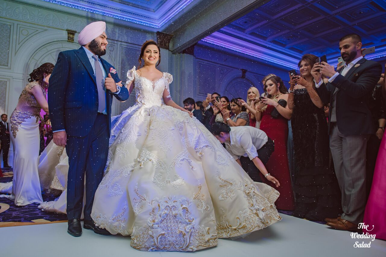 Harjap  Japinder Kaur  Harpreet Singh  Dubai  Guru Nanak Darbar Gurudwara  Sikh Wedding  The Wedding Salad  Faraz Manan- 14 preview