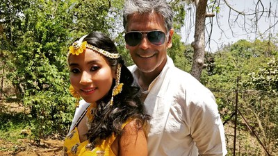 6 Milind Soman And Ankita Konwar To Tie The Knot Today In Alibaug!